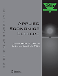 applied economic letters
