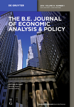 b.e. journal of economic analysis & policy