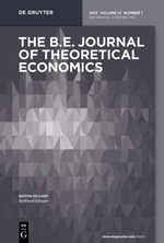 b.e. journal of theoretical economics