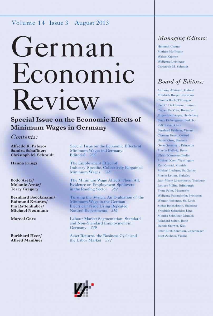 german economic review