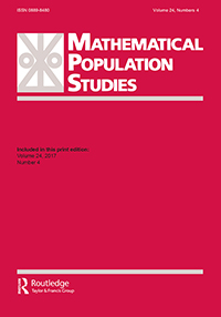 mathematical population studies