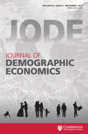 journal of demographic economics